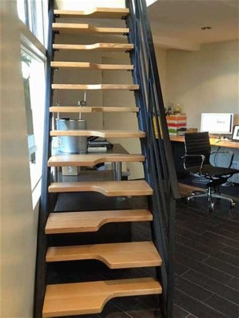 steep staircase solutions design solutions innovative stairs solve space problem angie s list