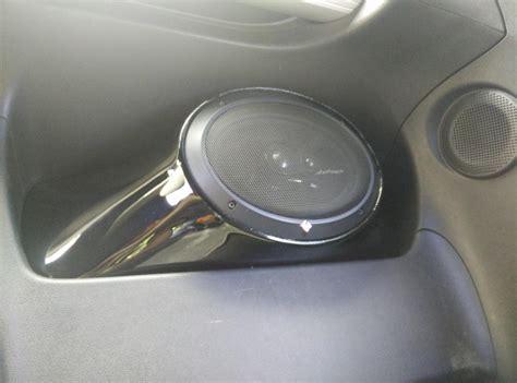 rear speakers solution nissan  forum