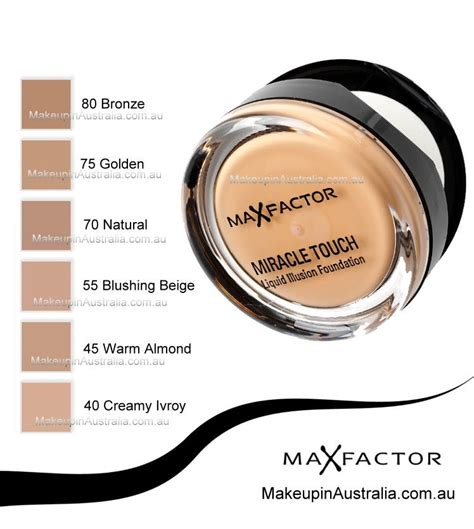 The One Iiiuskin Foundation max factor miracle touch liquid illusion foundation makeup australia store