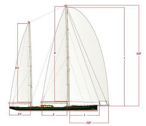 sailboat dimensions sailboat rig dimensions