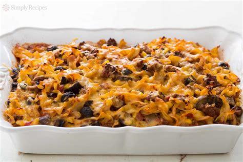casserole recipes beef noodle casserole recipe simplyrecipes