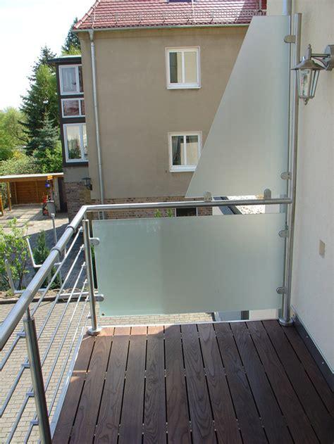 kerzenständer für balkon idee windschutz balkon