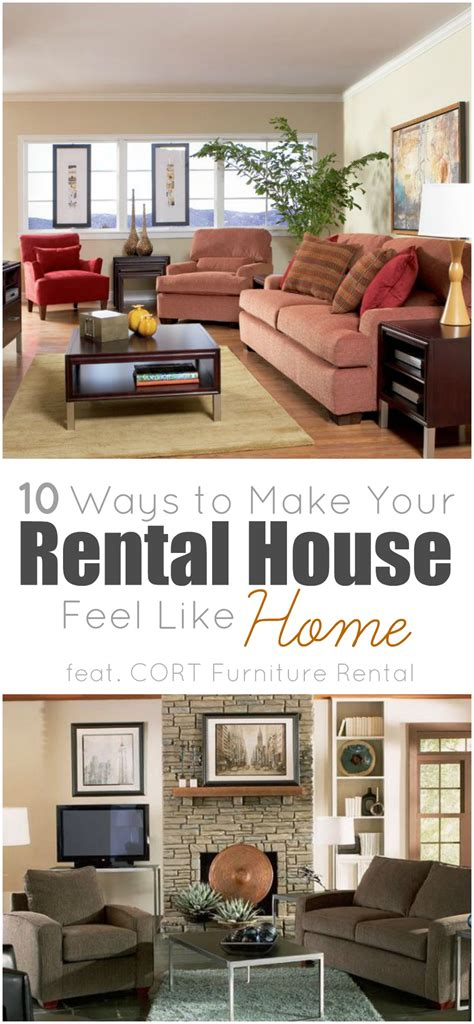 rent out your couch 10 ways to make your rental house feel like home