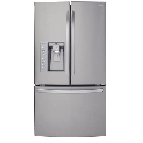 Countertop Depth Fridge by Lg Lfx25991st 24 6 Cu Ft Door Refrigerator