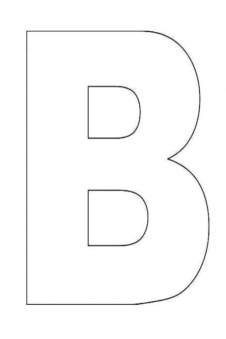 the letter b alphabet letter b template for alphabet 1656