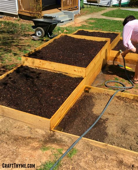 best soil for raised beds soil for raised garden beds learn how to build a raised