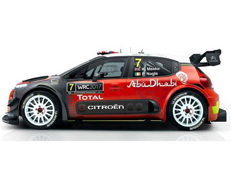 Citroen Rally Car by Citroen C3 Wrc Rally Car 2017 2017 Citroen C3 Wrc Rally