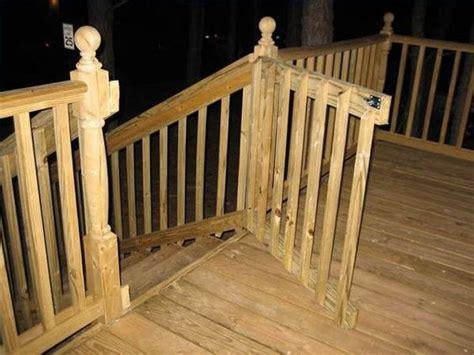 build  gate   deck deckbuildingideas