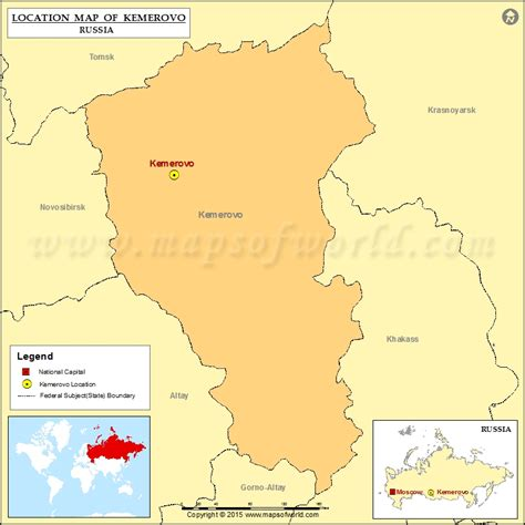 russia kemerovo map where is kemerovo location of kemerovo in russia map