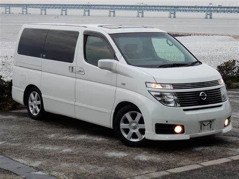 nissan highway star featured 2002 nissan elgrand highway star at j spec imports