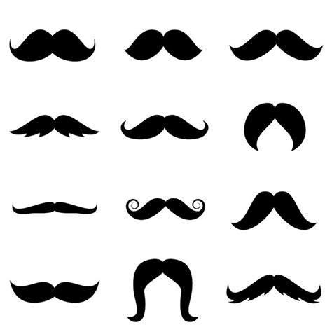 free mustache template 57 best clip mustache bow images on