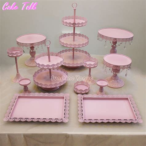 etagere cupcakes hochzeit 12 pieces cake stand set for birthday supplier for