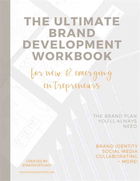 the branding blueprint the ultimate guide to creating your brand right the time books the ultimate brand development workbook by natalie greagor