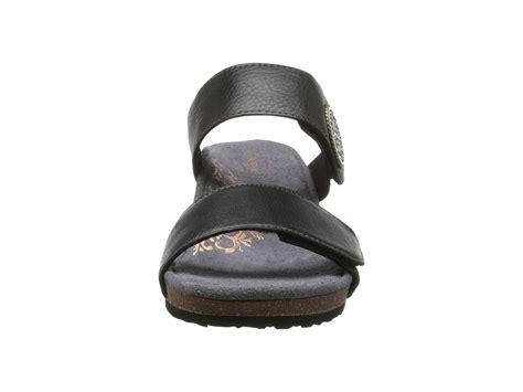 zappos wedge sandals aetrex marilyn wedge sandal black zappos free