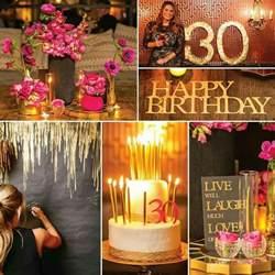 30th birthday theme ideas fiestas