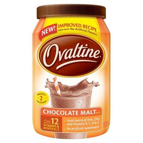 Ovaltine Swiss Rich Chocolate nestle ovaltine rich chocolate mix 18 ounce canister