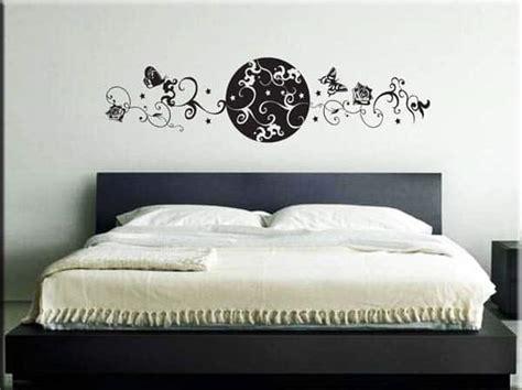 stickers da letto wall sticker testata letto