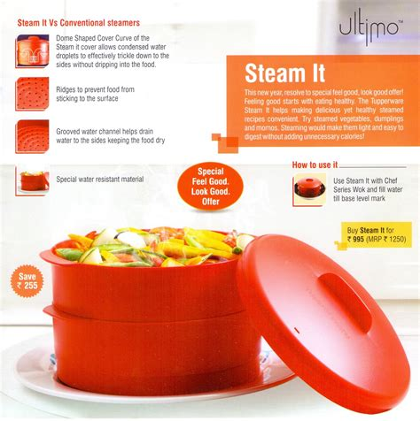 Tupperware Steam It tupperware ultimo steam it