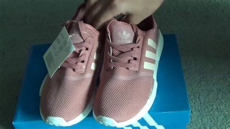Womens Nmd R1 S76006 Salmon adidas nmd r1 runner womens salmon s76006 from