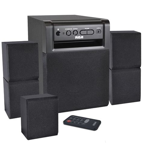 rca rt151 5 1 channel 80w surround sound home theater