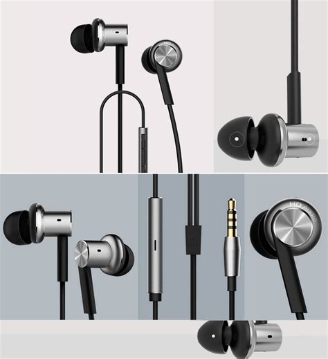 Xiaomi Mi Iv Hybrid Dual Drivers Earphones Headset In Ear Mi Piston jual earphone headset xiaomi iv hybrid dual drivers mi