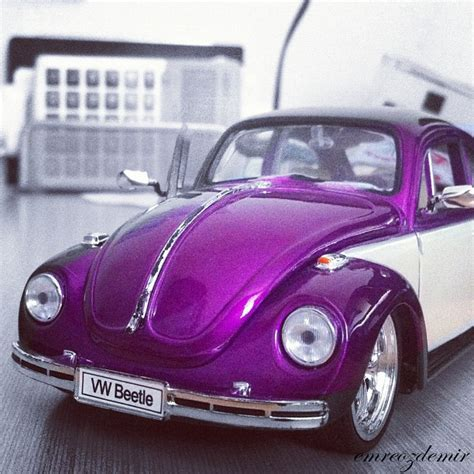 volkswagen beetle purple purple shiny vw beetle beetles vw style pinterest