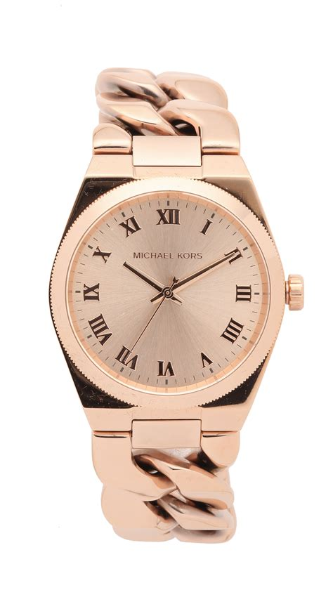 Michael Kors Ohrstecker Rosegold by Michael Kors Channing Gold In Metallic Lyst