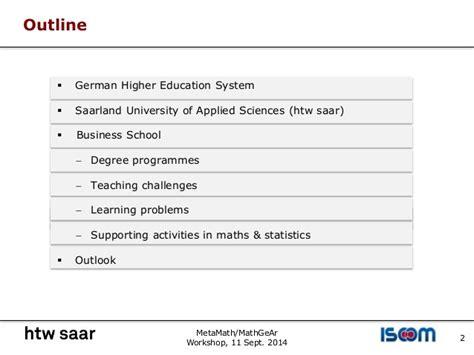 Mba Mathematics And Statistics by Teaching Mathematics And Statistics To Business Students