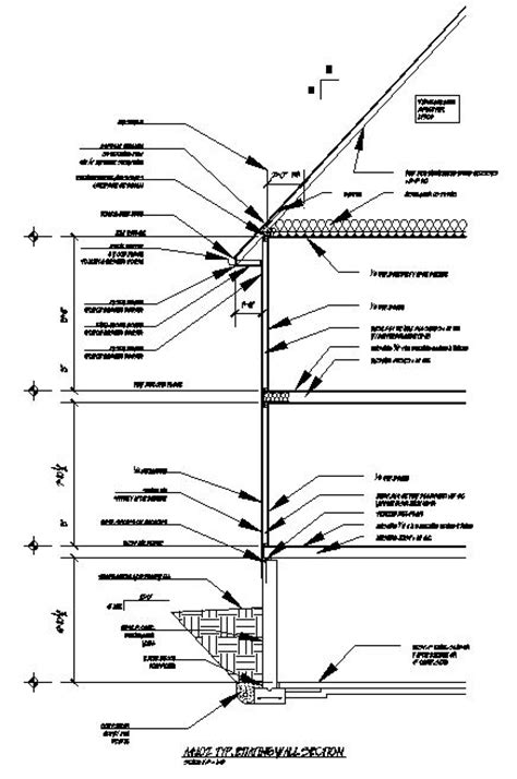 section html wall section and elevations christopher james myers