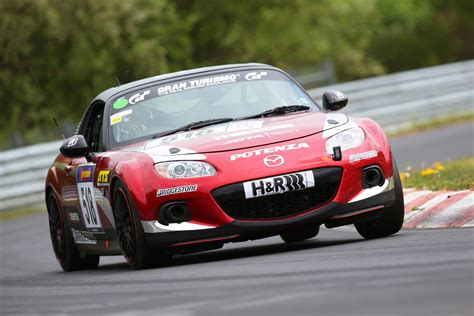 mazda hours mazda mx 5 to enter n 252 rburgring 24 hours as part of 25th