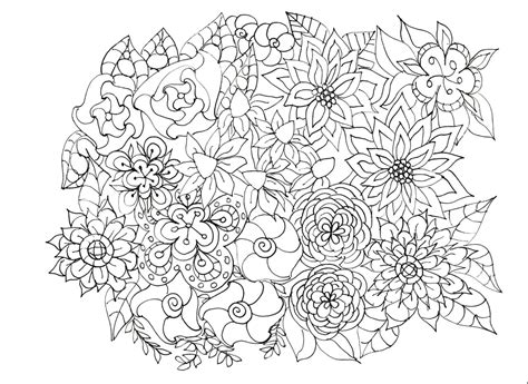 adult coloring pages flowers plants garden