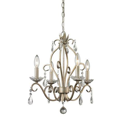Filament Chandelier Filament Design Century 3 Light Autumn Silver Chandelier Eco Vt8280069 The Home Depot