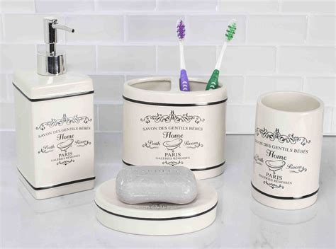 unique bathroom accessory sets