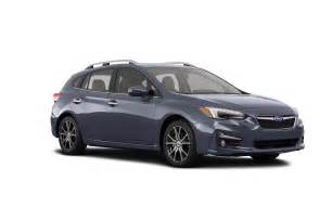 Subaru Impreza Hatchback Used All New 2017 Subaru Impreza Bows In New York Automobile