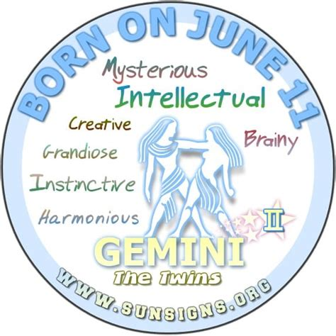 june 11th birthday astrology profile sunsigns org