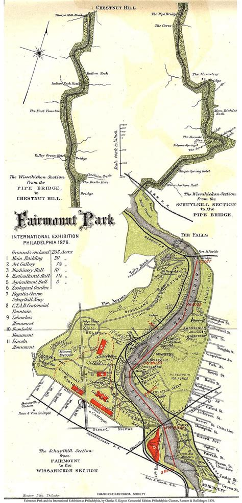 fairmount park map answers the most trusted place for answering s