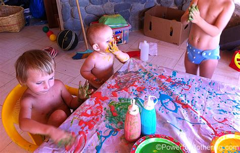 painting for toddlers paint and squeeze bottle painting for