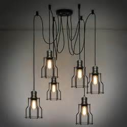 Wrought Iron Chandeliers Uk Industrial Loft Lighting Rustic Industrial For The