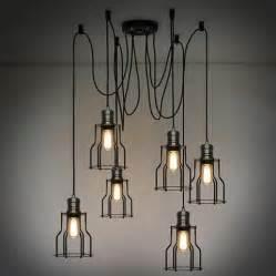 Iron Chandelier Uk Industrial Loft Lighting Rustic Industrial For The