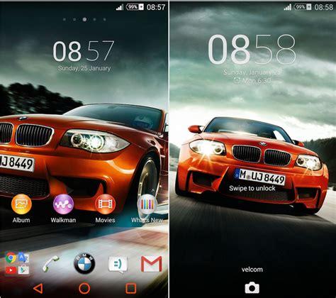 themes for android auto install xperia chelsea fc bmw auto orange theme
