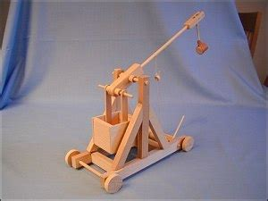 swinging counterweight trebuchet automata kits resources by focus educational software