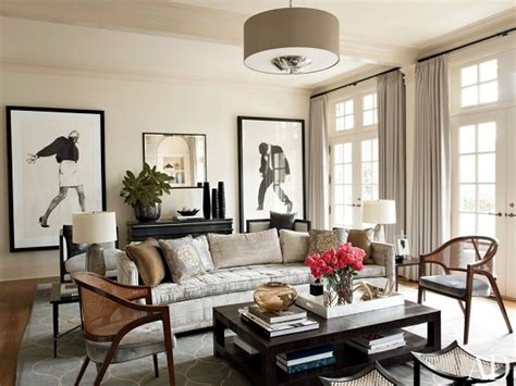contemporary living room  russell groves raleigh north