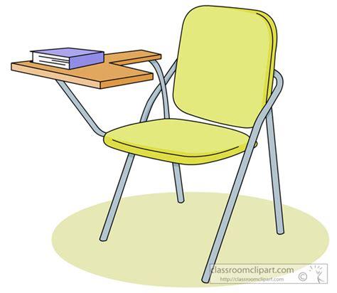 School Student Desk 04 Classroom Clipart Student Desk Clipart