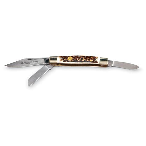 stag pocket knives 174 stockman stag pocket knife 147697 folding knives