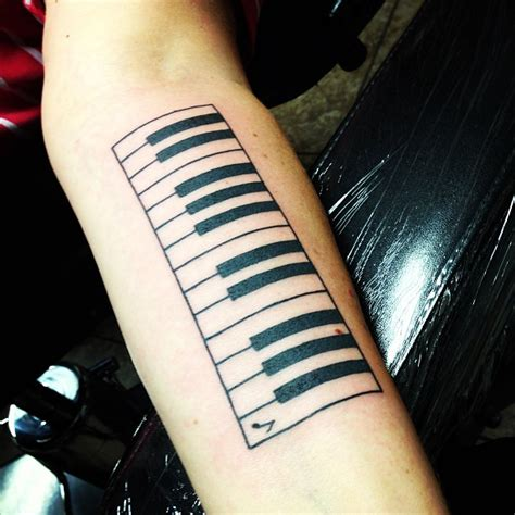 piano keys tattoo 50 phenomenal piano ideas golfian