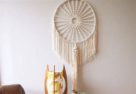 macrame dream catcher diy macrame catcher whimseybox projects to try