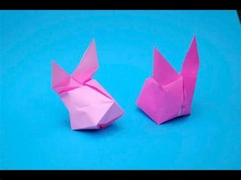 Origami Balloon Bunny - how to make an origami balloon bunny