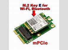 M.2 (NGFF) KEY E to mPCIe (PCIe+USB) mini PCIE Adapter | eBay M.2 Pcie Ssd To Usb 3.0 Adapter