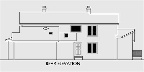House Plans For Sloping Lots In The Rear by Interesting House Plans For Sloping Lots In The Rear