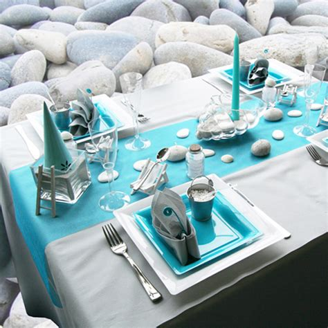 board themed decorations sea inspired table setting and ideas for your themed